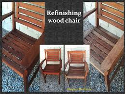 how to refinish a wood table wood chairs by shapira builders