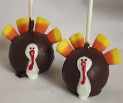 turkey cake pops thanksgiving cake pops delivered