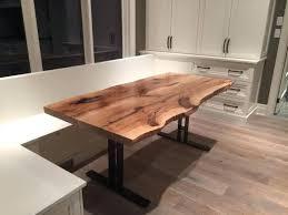 Walnut Slab Table Wood Slab Dining Tables U2013 Mitventures Co