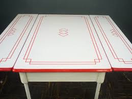 vintage enamel kitchen table 1920s dining table porcelain enamel kitchen table 1920s