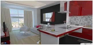 sketchup vray interior kitchen by ahmetcokelek on deviantart