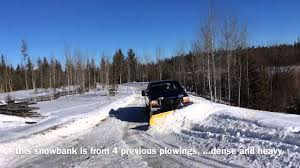 super duty f350 meyers v plow snow removal youtube