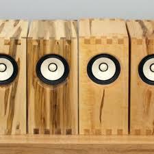 Bookshelf Speaker Design Custom Sparrow Bookshelf Speakers By Bekerwerks Design