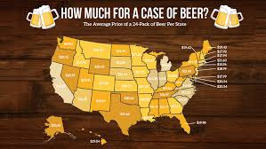 18 pack of bud light price at walmart this is how much a case of beer costs in every state food wine