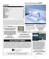 independent cabinet sales rep kitchen bath business may june 2017
