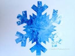 mess free painted snowflake 1024x768 25 winter and christmas