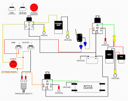 starter solenoid wiring diagram from battery to outstanding switch