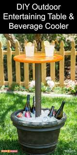 Round Patio Table Plans Free by Best 25 Table Umbrella Ideas On Pinterest Barrel Table Crush