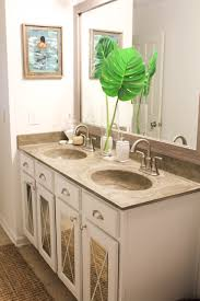 Mirror Old Fashioned Medicine Cabinet Burlington Bathroom Suite How To Install A Driftwood Frame Over Your Builder Basic Bathroom