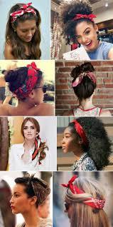 Frisuren Selber Machen Lockiges Haar by Braune Lockige Haare Weißes Hemd Rotes Bandana Frisuren Haare