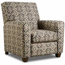 Recliner Accent Chair Cornell Pushback Reclining Accent Chair Indira Coal Tepperman U0027s