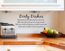 Wall Toaster Natural Kitchen With Wall Quotes Decals Combined Solid Wood