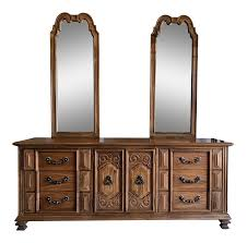Thomasville Bedroom Furniture Hardware Vintage Thomasville Oak Dresser Chairish