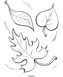 coloring pages of leaf shapes easy shapes coloring pages fall leaves printables pinterest