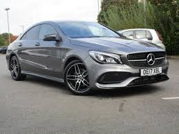 used mercedes cla used 2017 mercedes benz cla class cla 180 amg line 4dr for sale in