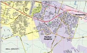 killeen map greater killeen fort area map