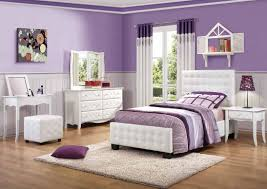 Amazing And Beautiful Mirrored Bedroom Furniture Sets Silver Leather Bed With Curving Head Board And Colorful Stripped