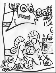impressive kids christmas caroling coloring pages with advent