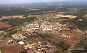 aerial view of ecu medical campus