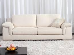 canapé fixe tissu canapé fixe tissu cécilia 3 places beige 53976 53977