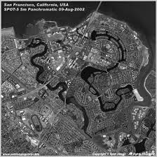 Crime Map San Francisco by Satellite Image San Francisco California Satellite Imaging Corp