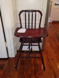 Eddie Bauer Light Wood High Chair Dining Room Modern Design Of Jenny Lind Wooden High Chair