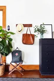 diy rustic hanging coat rack interior designs