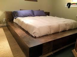 Building Platform Bed Platform Beds With Storage Building Plans U2014 Modern Storage Twin