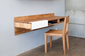 Wall Mounted Office Desk Wall Mounted Desk With Storage Black In Desks And Hutches Wall