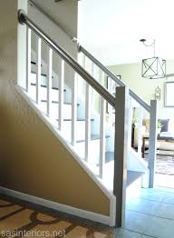 Open Staircase Ideas My Staircase Is Finished Jenna Burger