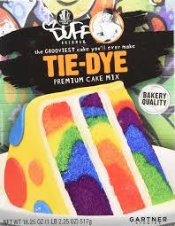 amazon com duff decorating mix cake purple rain 1 pack