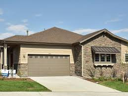 duplex plans with garage in middle legacy ridge patio villas new patio homes in westminster co