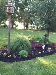 Small Backyard Trees by My Father U0027s Old Trailer Filled With Flowers Yard Pinterest