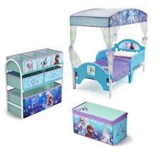Frozen Canopy Bed Disney Frozen Room In A Box Canopy Box And Bin Orginizer