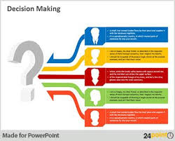 using decision making template to get a stamp of approval template