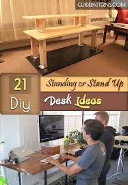Diy Desk Ideas 21 Diy Standing Or Stand Up Desk Ideas Guide Patterns