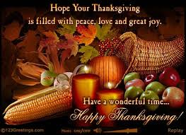 happy thanksgiving to you and your family cirkledin