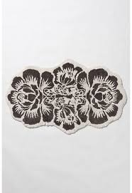 Damask Kitchen Rug Perfect Damask Bath Rug Damask Personalized Kitchen Rug Vintage
