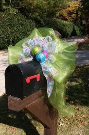 Christmas Mailbox Decoration Ideas 20 Best Baby Bows Images On Pinterest Baby Bows Mailbox And