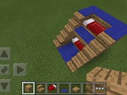 Minecraft How To Make A Bunk Bed How To Make A Awesome Bunkbed On Minecraft Snapguide