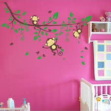 Bedroom Jungle Wall Stickers Online Buy Wholesale Jungle Room Decor From China Jungle Room