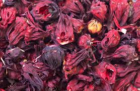 dried hibiscus flowers dried hibiscus flowers abstract background stock photo picture