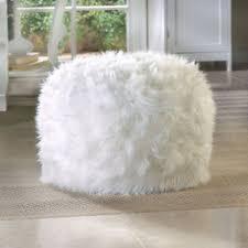 Faux Fur Bean Bag Chairs White Fur Bean Bag Chair Militariart Com