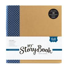 6x8 Album My Storybook Products Echo Park Paper Co