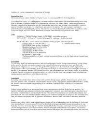 Sample Rhetorical Analysis Essay Ap English Ap English Language Composition Syllabus Mrs