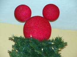 diy mickey mouse tree topper the mouse