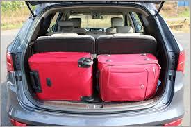 cargo space in hyundai santa fe hyundai santa fe test drive report read it before you buy