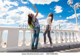 happy beautiful enjoy blue stock photo 671531056