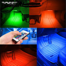 Interior Lighting For Cars Aliexpress Com Buy Wireless Remote Music Voice Control Car Rgb
