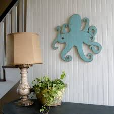 octopus decor octopus art sea life octopi outdoor sign octopus decor octopus